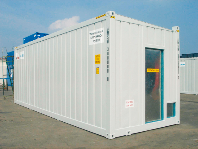 Control Unit Container Jpsil High Quality Purpose