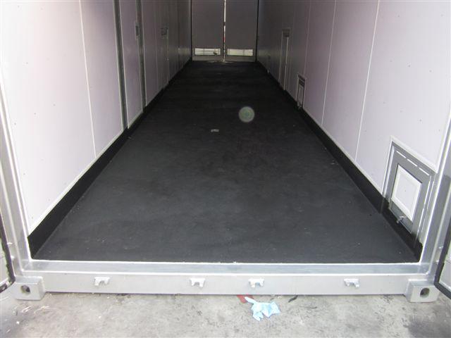 Rubberised Container Floor | JPSIL | High Quality Purpose