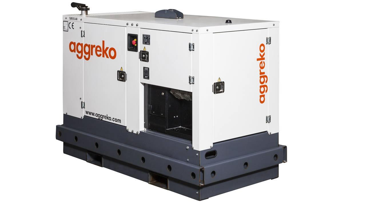 super quiet aggreko generators