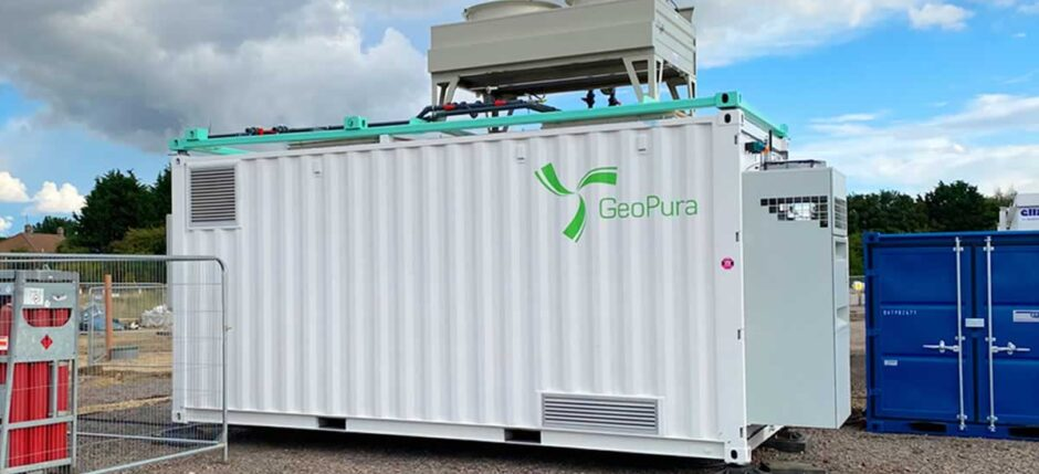 hydrogen geopura fuel cell 20ft shipping container generator