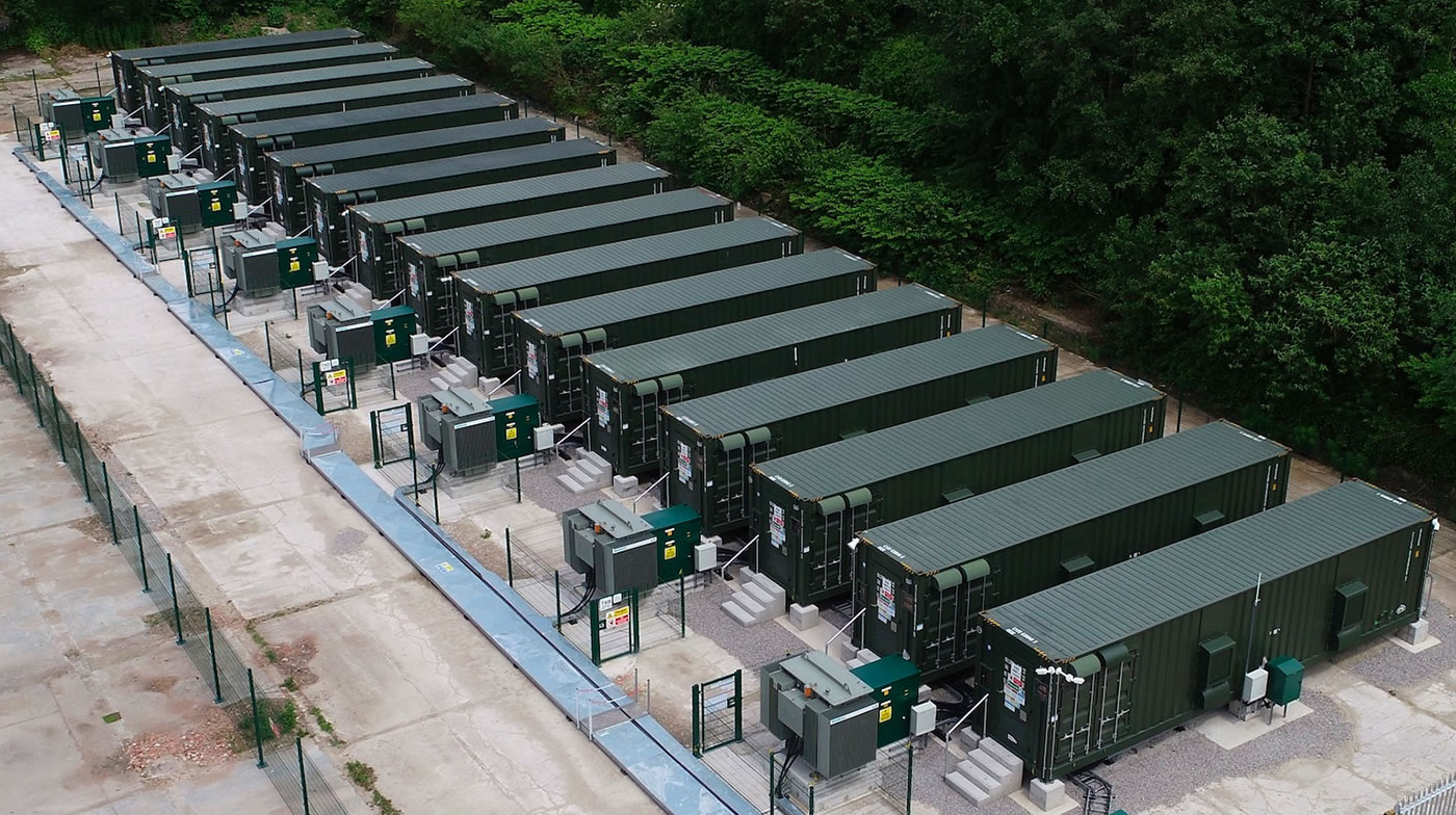 new anesco battery energy storage system